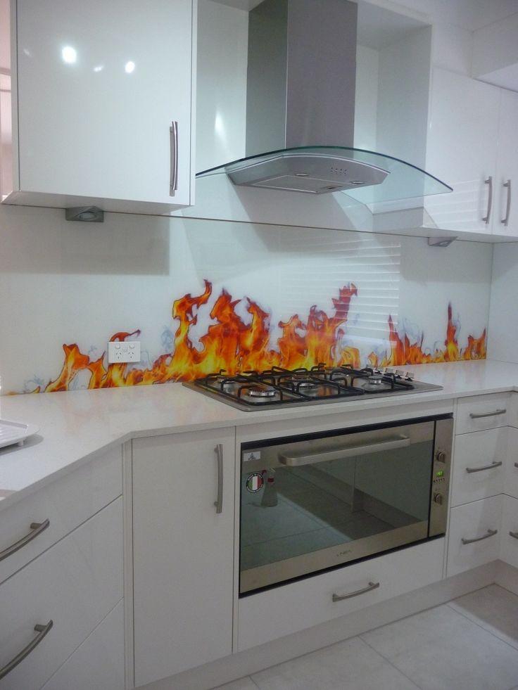 Elegant Printed Glass Gallery Glass Splashbacks Gold Coast In Glass Design