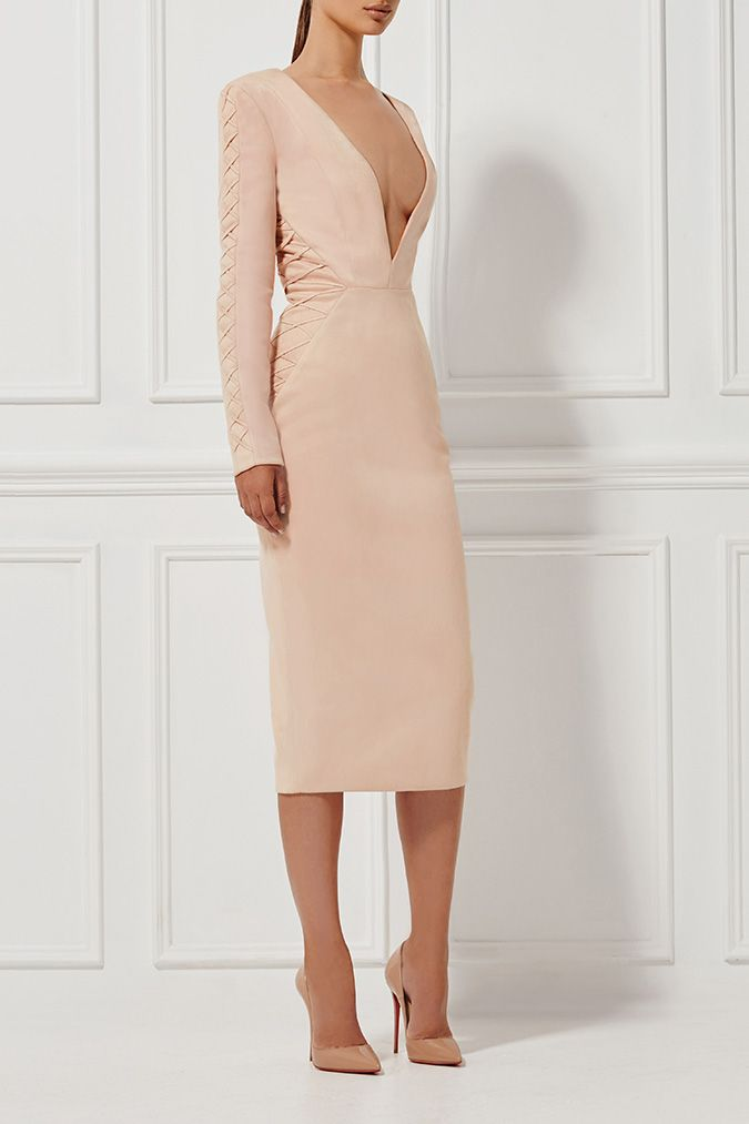 Misha Collection - Casadeia Dress - Blush