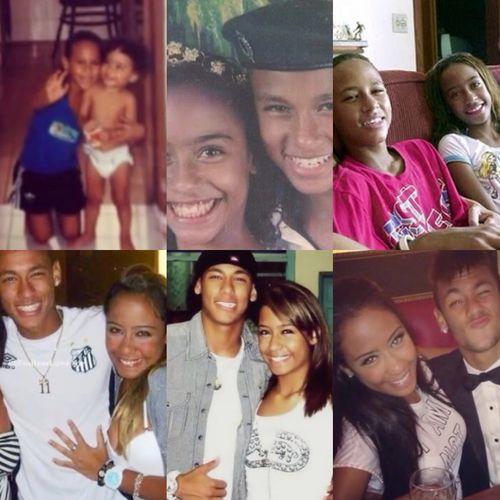Neymar and Rafaella