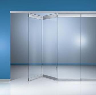 cortinas de vidro deslizantes