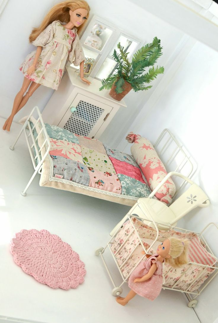 Maileg furniture used with Barbie