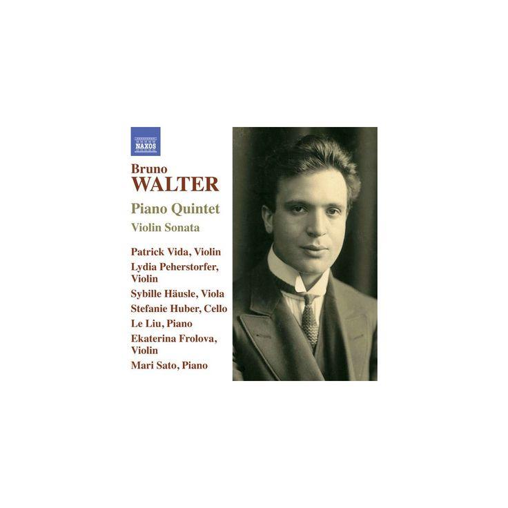 Walter & Frolova & Vida - Bruno Walter: Piano Quintet & Violin Sonata (CD)