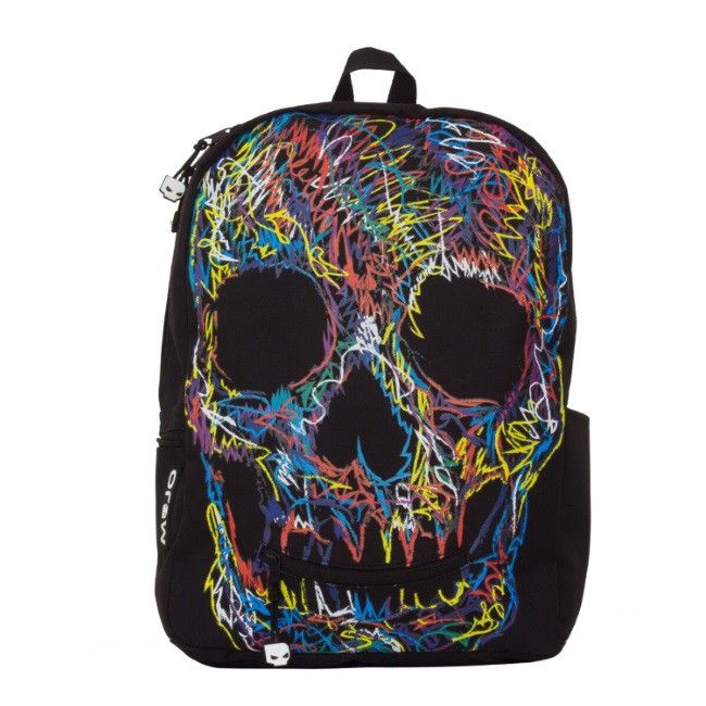Rucsac Mojo, Crayon Skull http://www.dacris.net/catalog/product/view/id/12330/s/rucsac-crayon-skull/category/529/