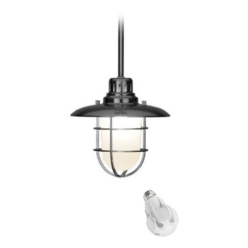 Design Classics Lighting Nautical Mini-Pendant with 8-Watt LED Bulb | 812-09/8W LED | Destination Lighting