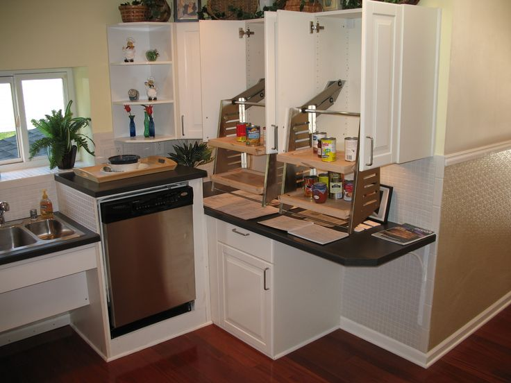 1000 images about kitchens for short people on pinterest shelves short a and pantry Kitchen design for elderly
