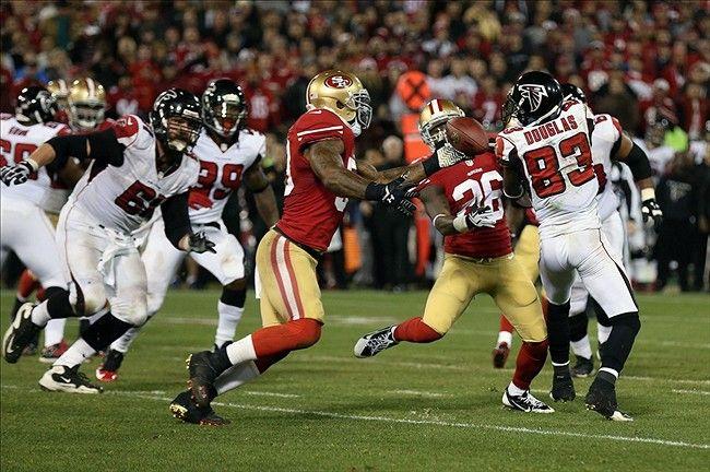 San Francisco 49ers Tramaine Brock, NaVorro Bowman,  Atlanta Falcons Harry Douglas