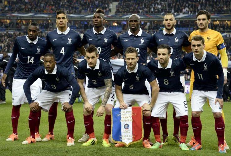 L' équipe de France - Football    Vendredi 10 Juin,il y a eu l'Euro 2016 et la France a gagner 2-1 et la Roumanie a perdu. Swane