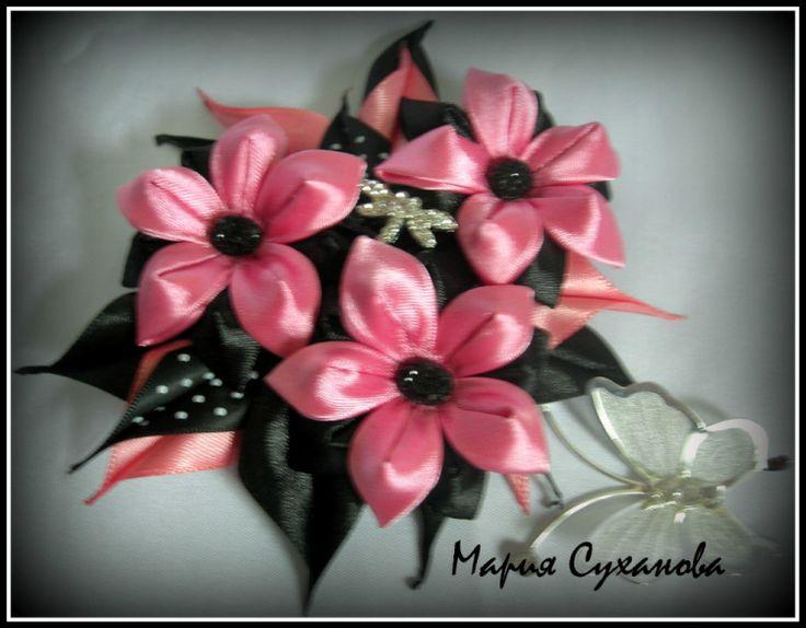 Gallery.ru / Фото #169 - Цветочки из ткани. для волос и не только - suxanovams