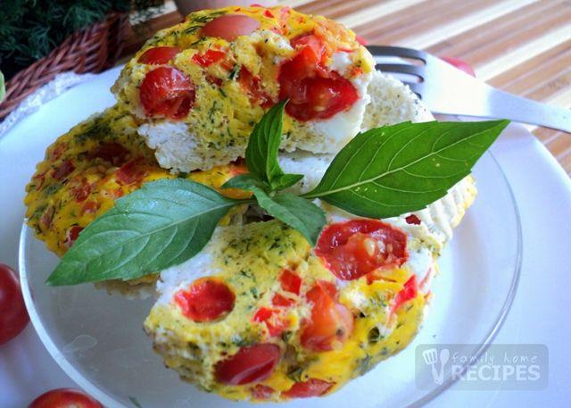 Паровые яичные кексы