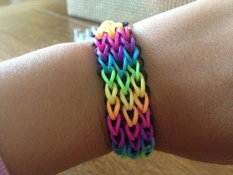 IMPORTER - NÁVOD NA TRIPPLE SINGLE NÁRAMEK Z LOOM BANDS - YouTube