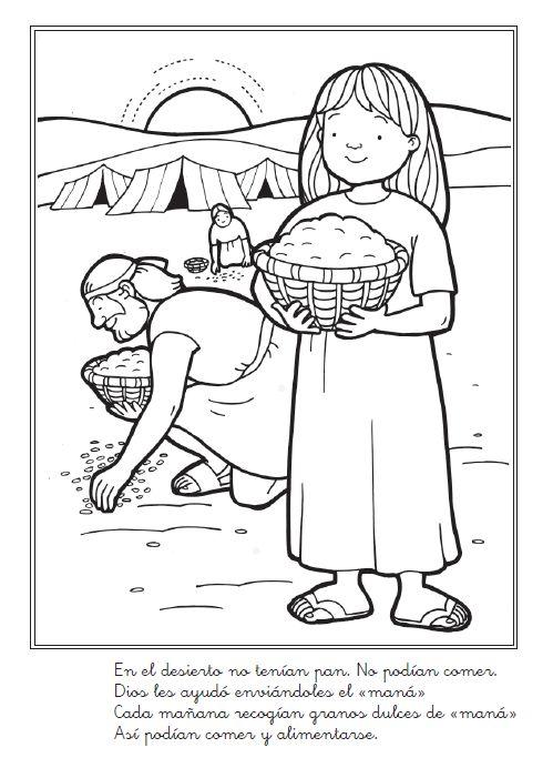 116 best Biblia para colorear images on Pinterest | Sunday school ...