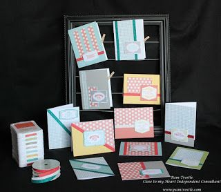 Pam's Crafty Creations: Framed - Stamp of the Month Blog Hop