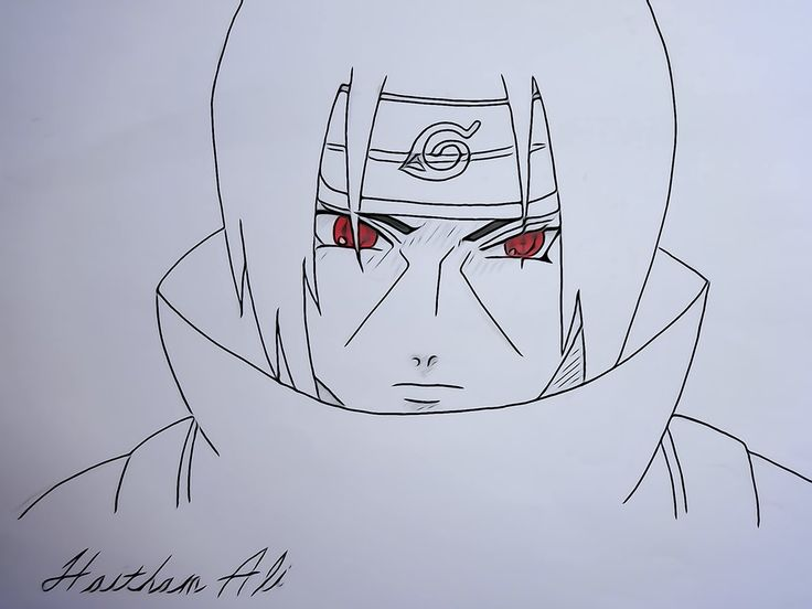 Itachi Uchiha Naruto Cool Art Drawings Art Drawings Simple Itachi Uchiha