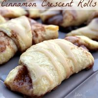 Cinnamon Crescent Rolls - Julie's Eats & Treats