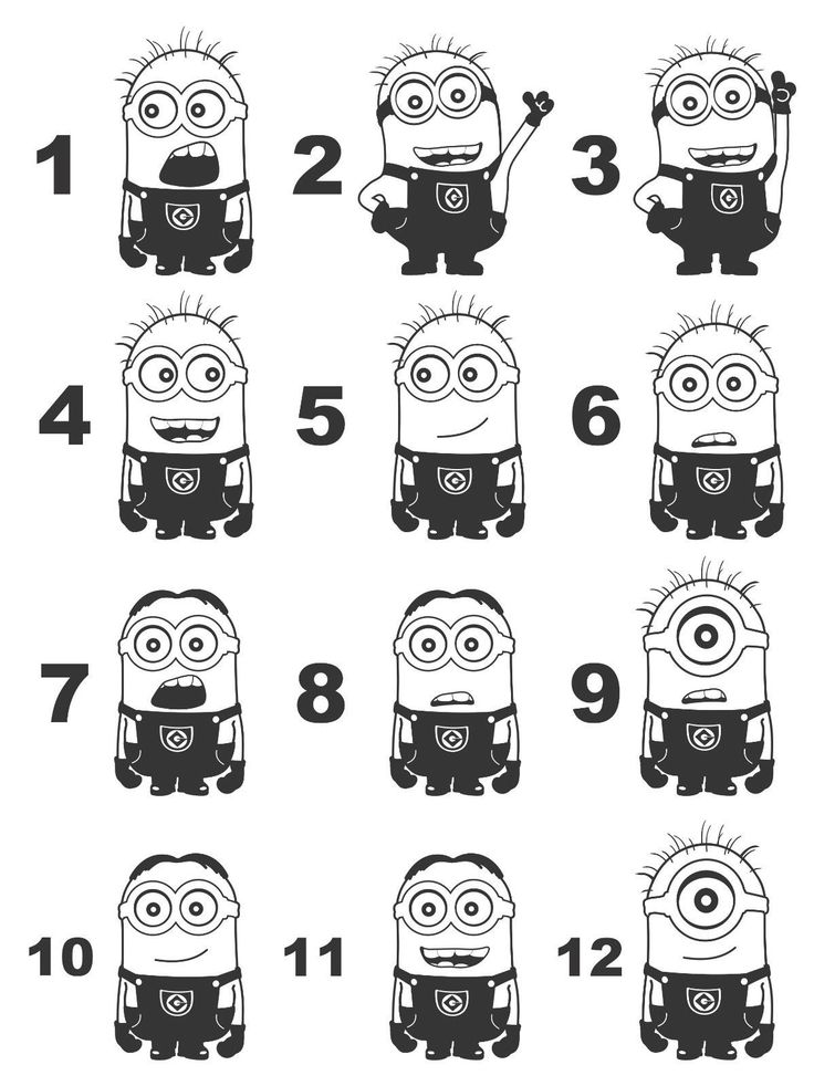 The 25+ best Minion stencil ideas on Pinterest | Minion ...