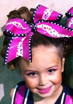 huge cheer hair bow for cheerleading cheerleaders