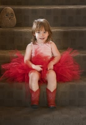 Every girl needs a red tutu
