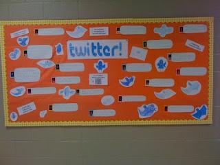 Twitter bulletin board idea