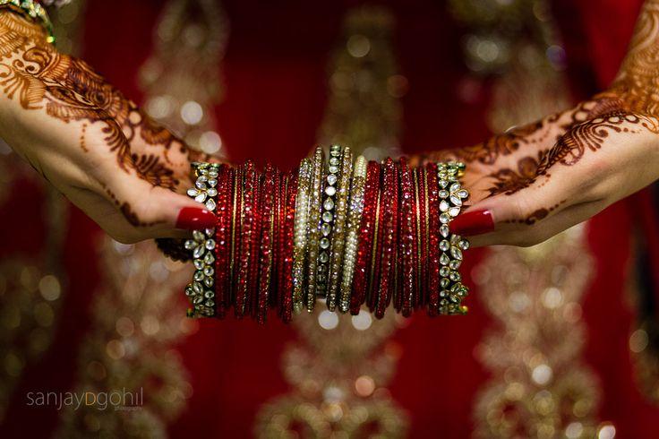 Hindu Gujarati Wedding ceremony at Oshwal Centre in Potters Bar, Hertfordshire, UK