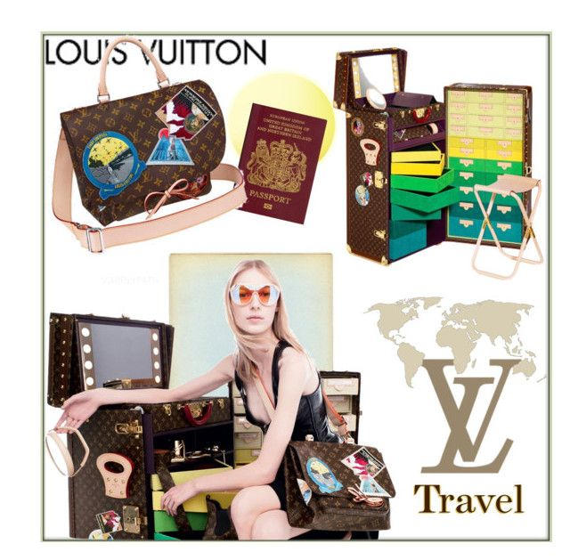 Louis Vuitton Vintage 2014! by whirlypath on Polyvore featuring Louis Vuitton and vintage