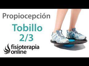 Ejercicios de propiocepción o propioceptivos de tobillo. Nivel intermedio. Reforzar el tobillo. - YouTube