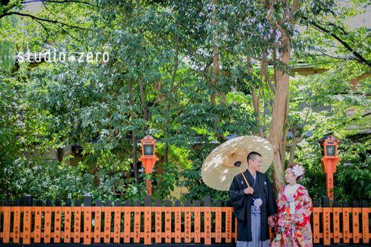 京都ロケーション前撮り 和装2点 白無垢・色打掛 | 『和装日和』 和装前撮り.com BLOG