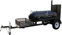For those times I want to chuck the corporate world, and just do bbq...  TS250 BBQ Smoker Trailer
