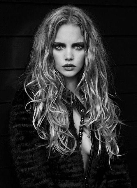 Marloes Horst photographed by Marcin Tyszka for L'Officiel Dutch.