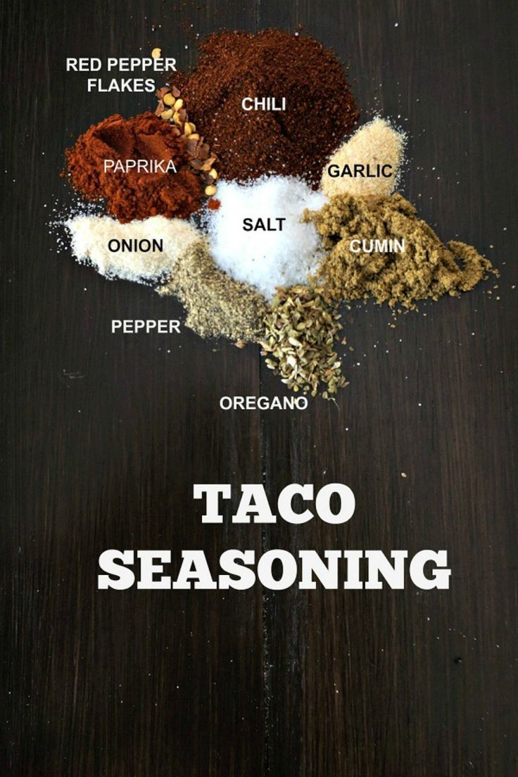 DIY Taco Seasoning: Skip the processed packets and make your own Taco seasoning at home for an easy, cheaper, healthier version.