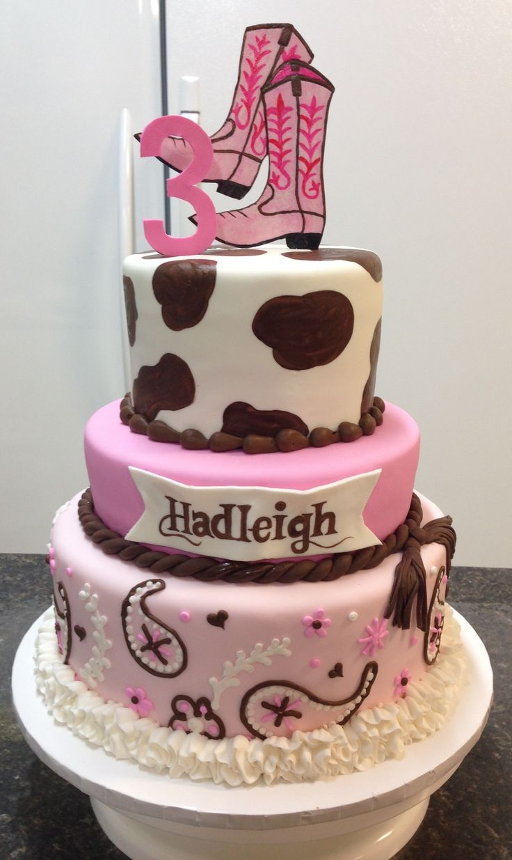 Cowgirl Cake                                                                                                                                                      More