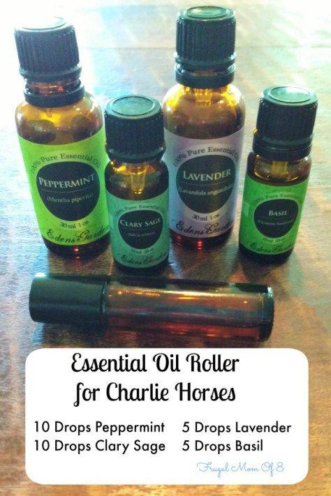 Essential Oil Roller for Charlie Horses