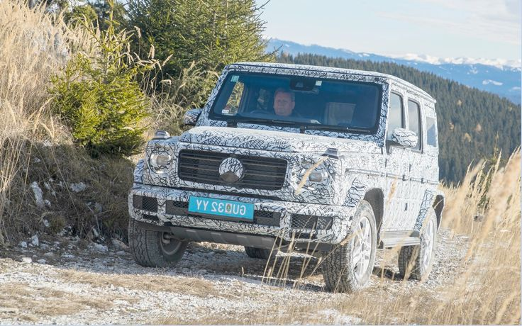 The German manufacturer Mercedes-Benz has released a series of pictures of the G-Class 2019, which will make its world unveiling at the upcoming Detroit Auto Show.It presents the new G-Class wearing a camouflage while it seems conquer without much effort on the course Schockl mountain, located near the SUV's assembly plant in Graz, Austria.   #Auto Shows #Detroit #Mercedes-Benz G-Class 2019 Revealed before the Detroit Auto Show #The Car Guide
