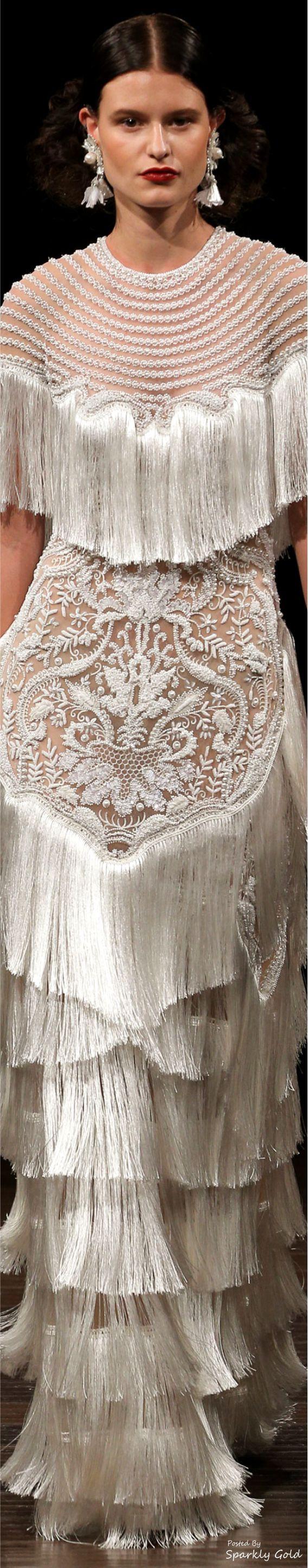 www.2locos.com  Naeem Khan Bridal Fall 2017