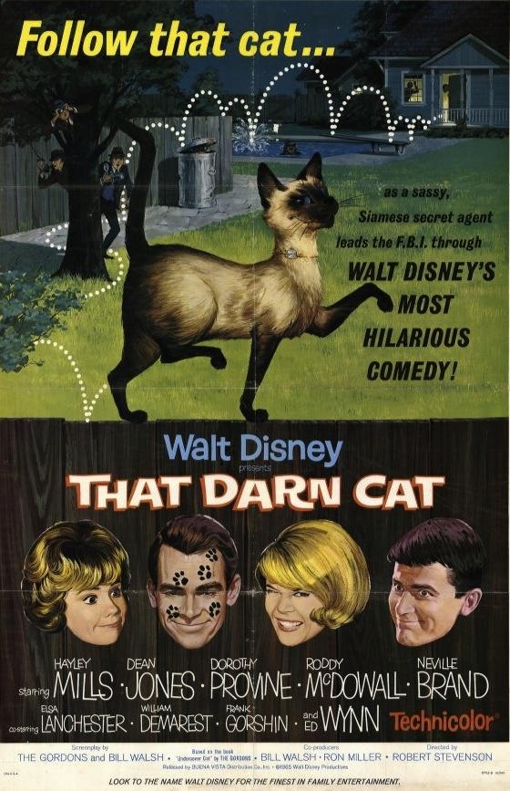 The Disney Films: That Darn Cat 1965
