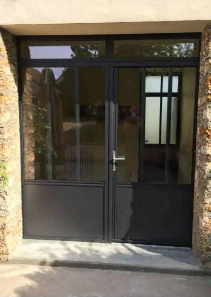 Porte Fenêtre Idées Deco En 2019 Entrance Doors Garage Doors Et