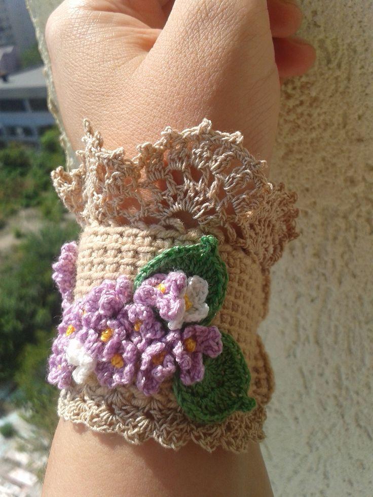 Crochet Bracelet. My work