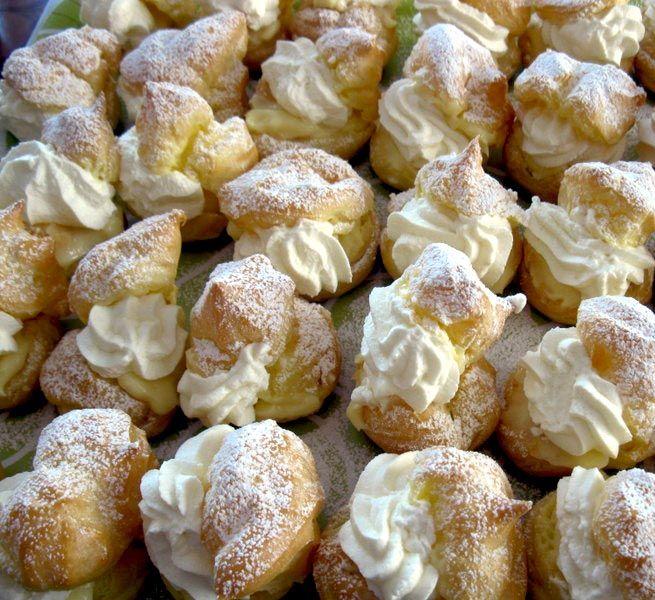 Choux a la crème (Cream Puffs) | RspCook