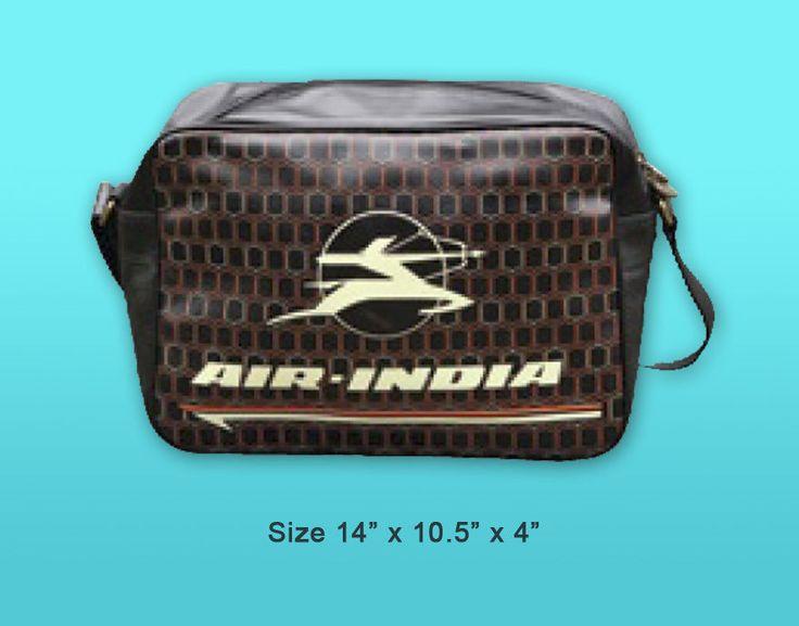 SOCVS025P AIR INDIA VINTAGE AIRLINE BAG
