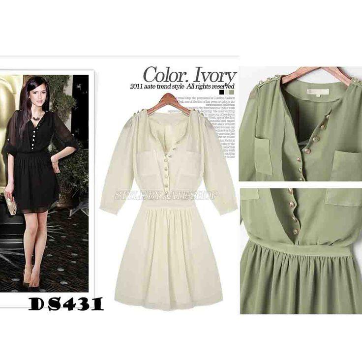DS431 Black green White BEST QUALITY chiffon - https://www.afwindo.com/shop/ds431-black-green-white-best-quality-chiffon/
