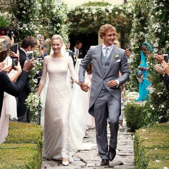 The 2015 royal wedding of Monaco: Beatrice Borromeo weds Pierre Casiraghi - Vogue Australia