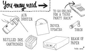https://www.theguardian.com/lifeandstyle/2014/jul/07/how-to-mend-an-inkjet-printer - Frustrated by error messages, chips, or ink running out? Follow these handy tips and give your #printer a longer life.