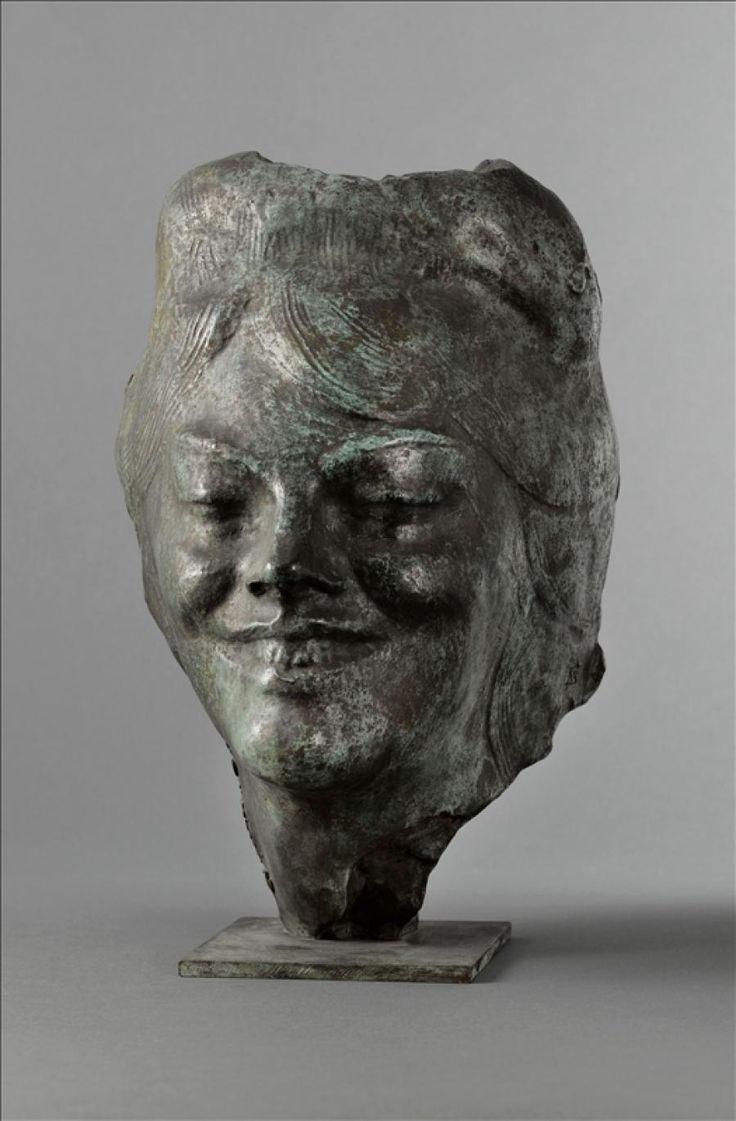 Antoine Bourdelle (1861-1929), Masque, 1900, Bronze, 28 cm | Paris, musée Bourdelle