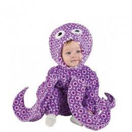 Χταποδάκι μοβ αποκριάτικη στολή bebe