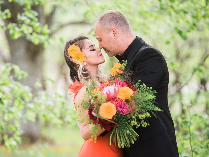 Det vackra brudparet