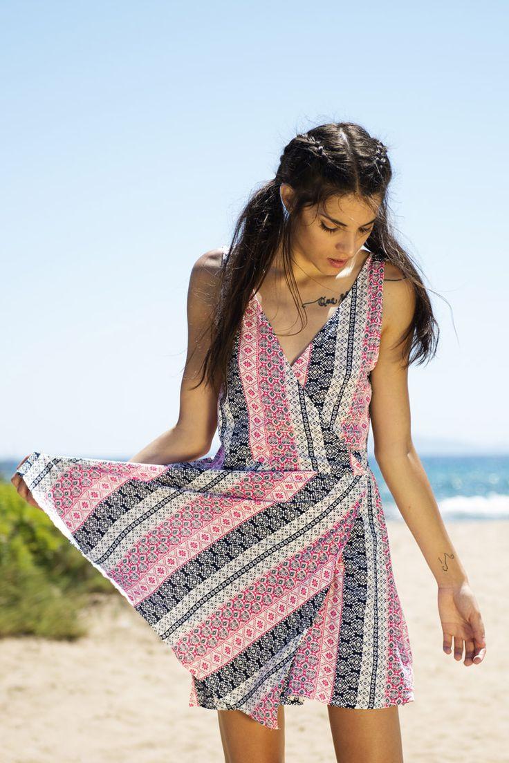 Printed Robe Φόρεμα - ΡΟΥΧΑ -> Φορέματα & Φόρμες | Made of Grace