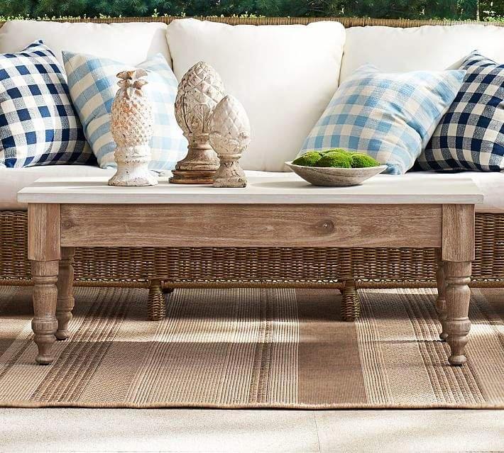 Pottery Barn Calistoga Coffee Table Livingroomideas