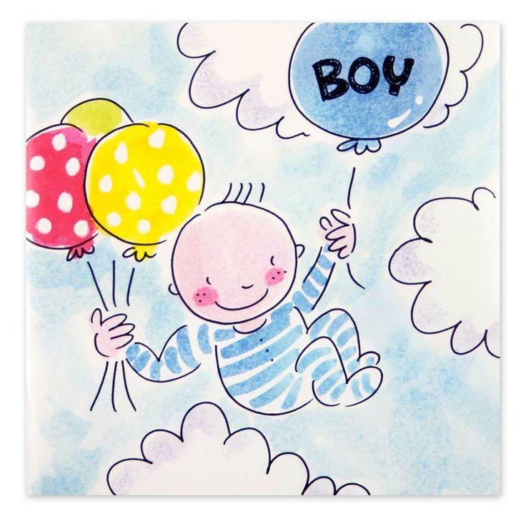 Geboren Baby | Blond Amsterdam www.hipenstipkaarten.nl
