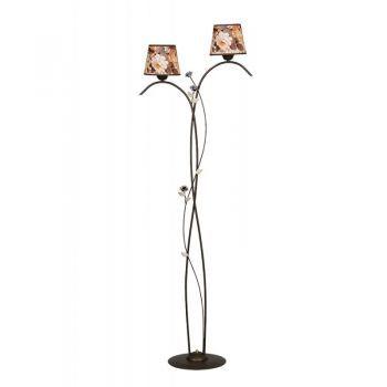 Lampadar OXANA LP2 - aceasta varianta de lampadar  imbina liniile moderne cu eleganta clasica. #DecoStores #lampadare #iluminat #amenajariinterioare #floorlamps #homedecor #corpiluminat