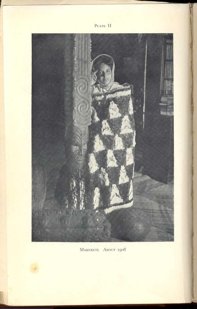 Plate II Makereti. About 1908
