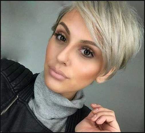 Die besten 25+ Trendige kurzhaarfrisuren grau Ideen auf Pinterest ...   Einfache Frisuren